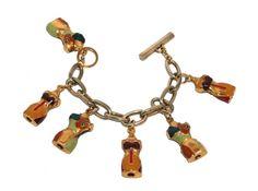 Jean-Paul Gaultier - Perfume Bottle Bracelet & Earrings - 1993