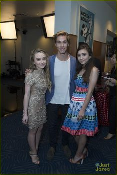 Sabrina Carpenter, Rowan Blanchard, and Austin North at the RDMAS April 25,2015