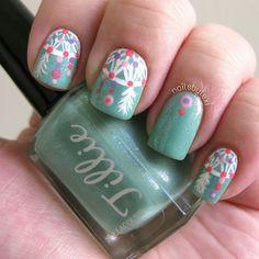 Tillie Polish Dreamcatcher Manicure by alexa_nicole, via Flickr