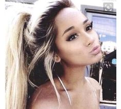 Image de ariana grande, hair, and make up