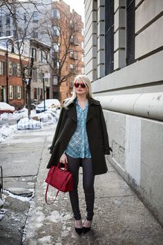 Hints of Red | The Style Scribe