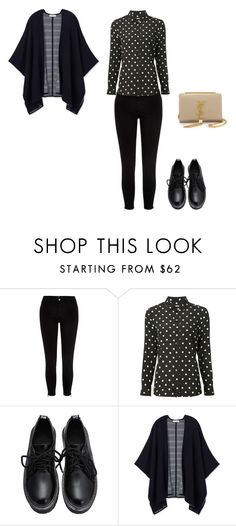 """""""Untitled #142"""" by doda-laban on Polyvore featuring River Island, Yves Saint Laurent and Tory Burch"""