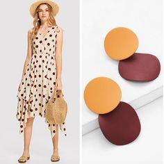 2bdfbf780e7 Asymmetric Polka Dot Dress Dot Dress