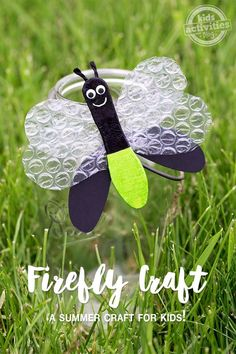 FIREFLY CRAFT - Kids Activities