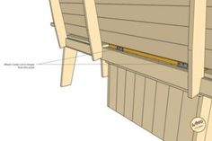 A bench. A cooler. The most amazing Cooler Bench you've ever seen. Check out these free DIY-friendly plans. Wood Bench Plans, Wooden Chair Plans, Woodworking Bench Plans, Easy Woodworking Projects, Pallet Projects, Backyard Projects, Woodworking Furniture, Outdoor Table Plans, Diy Outdoor Bar
