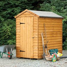 X Pent Tool Log Store Shed Wood Garden Sheds Storage