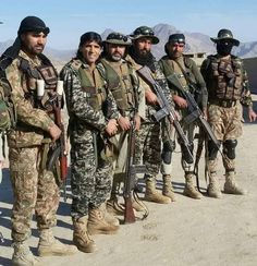 As massive offensive reaches its fifth day, Kurds liberate more land from ISIS but face stiff resistance. Pak Army Soldiers, Pakistan Armed Forces, Pakistan Army, Us Coast Guard, Us Marines, Search And Rescue, Us Air Force, National Guard, Air Show