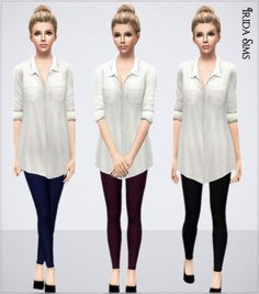 The Sims  Roupas Sims  Clothing Sims  Cc Clothes