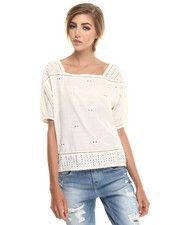 Maison Scotch - VINTAGE EMBROIDERED TOP
