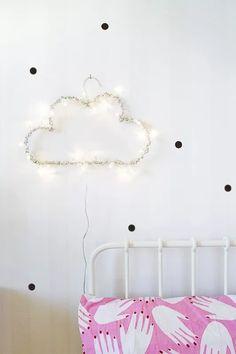 DIY: Lamparita Casera de Nube
