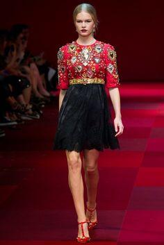 pasarela FW15 de Dolce & Gabbana