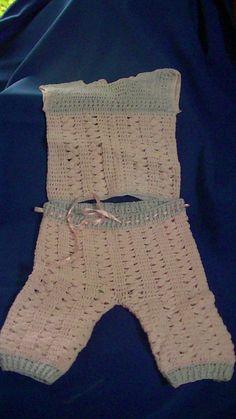 Conjunto hilo crochet Tere