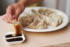 dumpling folding