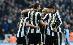 Newcastle returned to the top of the Championship with a 4-0 win over Rotherham United