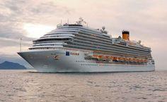 Alla Spezia arriva per la prima volta Costa Diadema - Pazzo per il Mare