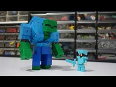 Minecraft Mondays S1 Ep2 The Mutant Zombie - YouTube Zombie Music, Lego Minecraft, Samara, Mondays, Mario, Home, Ideas, Paintings