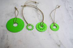 Mr. Kate | 12 DIYs of the holidays – #2 hardware ornaments