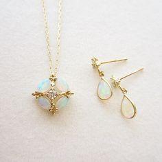 K18YG opal diamond jewelry #tocca #japan