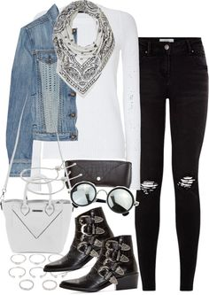 Style Selection Fashion Blog | Outfits and Advice • Untitled #3531 by amylal featuring black glasses ...