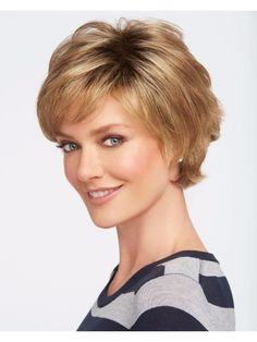 Wigs - The newly re-introduced Boost wig features longer sweeping layers on the top and sides that blend with shorter, more-textured layers in the back.