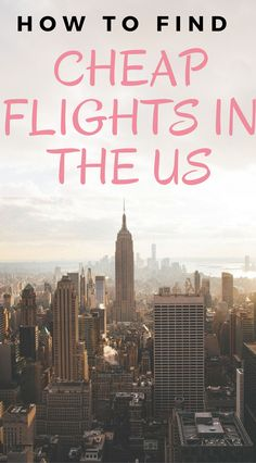 Being able to find cheap flights in the US can be a challenge, but it isn't impossible. Learn the top tips and tricks to find affordable flights in the US. Us Travel Destinations, Europe Travel Tips, Travel Deals, Budget Travel, Travel Usa, Europe Packing, Travel Packing, Traveling Europe, Backpacking Europe