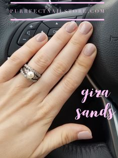 Giza Sands. Simple and beautiful neutral nails with Color Street.