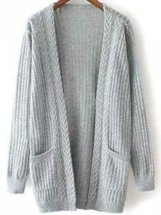 On The Hit List Longline Knit Cardigan in Powder Blue - New ...