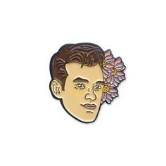 Morrissey pin by Sad Truth Supply.