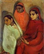 Amrita Sher - The fanciulle, 1935 -  New Delhi National Gallery of Modern Art
