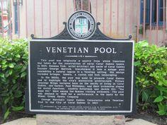 Venetian Pool, Miami, Florida, EUA.