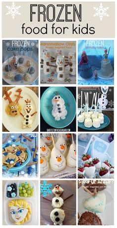 Frozen recipes: Great ideas for parties or just for meal times