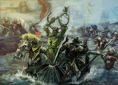 Battle of the Trident | Battle on the Trident by bendennett #got #agot #asoiaf