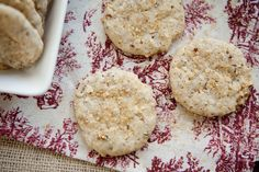 Sparkling Hazelnut Cookies | Eclectic Recipes
