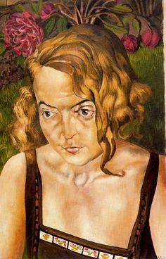 Stanley Spencer, (English painter, 1891 – Daphne Charlton Although Stanley Spencer's portraits are brutally realistic & strippe. Lucian Freud, Dame Mary, Stanley Spencer, English Artists, British Artists, Best Portraits, Vintage Artwork, Art Database, Western Art