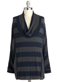 On Cowl Style Top in Plus Size, #ModCloth