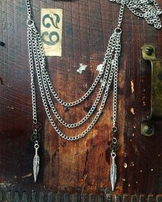 Handmade one of a kind silver statement by L2CreationsJewelry