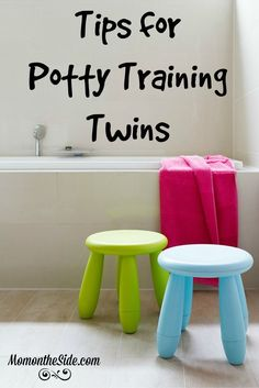 Potty Training Twins is Easier with These Tips