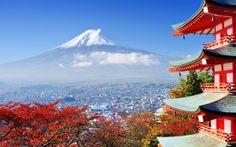 Fuji Mount in Japan HD Wallpaper
