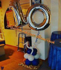 Luftballon Dekoration zum Firmenjubiläum