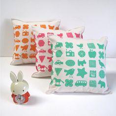 kids pillows by Helen Rawlinson