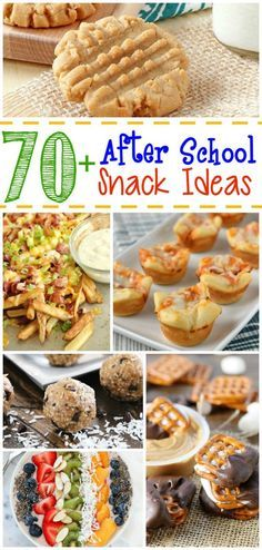 70+ After School Snack Ideas - From sweet to savory, this is the ultimate list of perfect after school snack ideas on Diary of a Recipe Collector