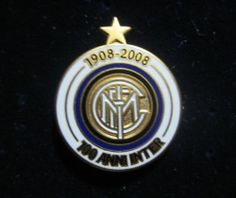 "INTER FC DISTINTIVO CELEBRATIVO ""100 ANNI"" INTROVABILE"