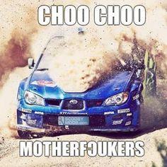 I'm a steam train mommy LOL Car Guy Memes, Truck Memes, Truck Quotes, Car Jokes, Funny Car Memes, Car Humor, Funny Cars, Subaru Rally, Subaru Cars