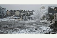 The storm that left Plymouth battered and bruised
