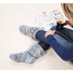 Mary Maxim - Free Boot Slippers Pattern - Free Patterns - Patterns & Books