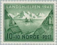 Sello: Landscapes (Noruega) (Landscapes) Mi:NO 292,Sn:NO B32,Yt:NO 254,AFA:NO 298