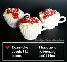 Recipe/Tutorial: Papyrus's Spaghetti (Cake) (Undertale Undertea, part 7)