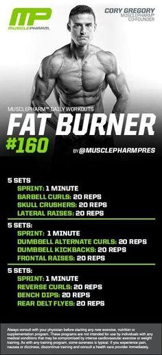 musclepharm fat burner workouts