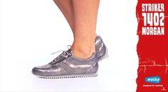 #Wolkyshop Deze week op onze #catwalk: de 1402 Morgan! Deze sneaker uit de Striker serie is zowel sportief als super vrouwelijk en is verkrijgbaar in hippe shiny leersoorten! De 1402 Morgan heeft uiteraard een uitneembaar voetbed en is optimaal verstelbaar door de veters en de rits. Deze sneaker mag echt niet ontbreken in jouw kledingkast. #Haverstraatpassage #Enschede
