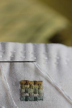 Tiny embroidery